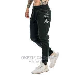 Muscular Giants Men Sweatpants Zipper Pocket Sport Pants   Clothing for sale in Lagos State, Surulere