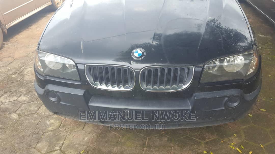 BMW X3 2004 Black