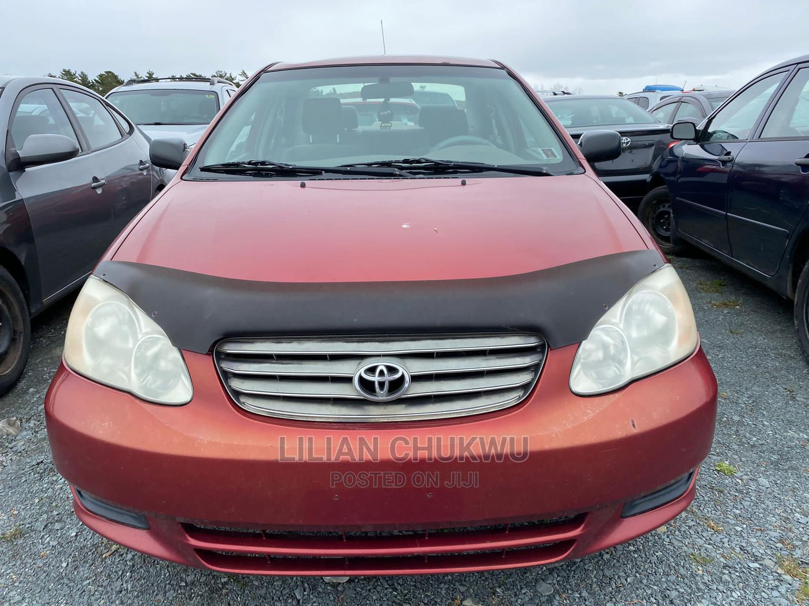 Archive: Toyota Corolla 2004 Red