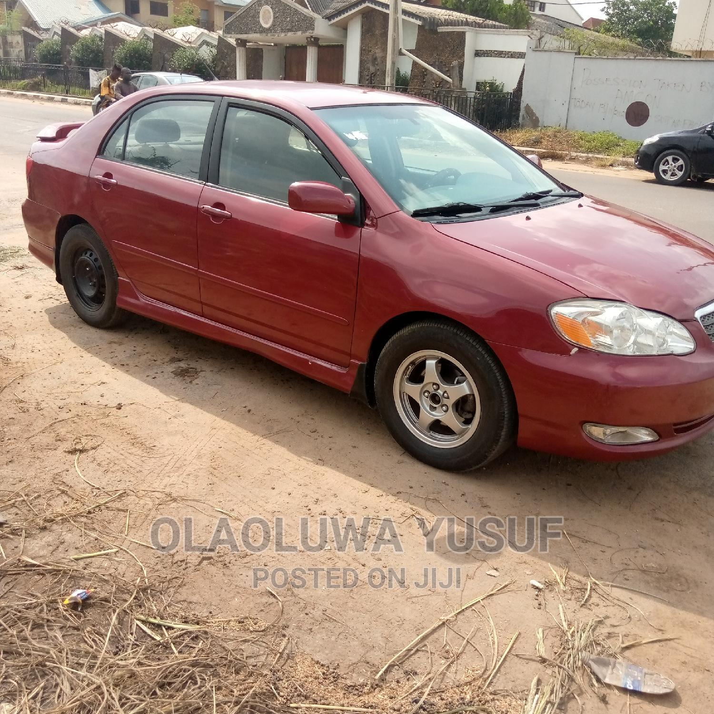 Toyota Corolla 2003 Sedan Red | Cars for sale in Ibadan, Oyo State, Nigeria