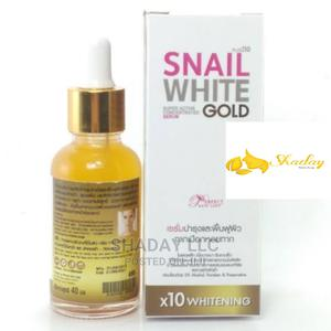 Snail White Gold Serum Super Activex10 Whitening Anti Aging   Skin Care for sale in Lagos State, Alimosho