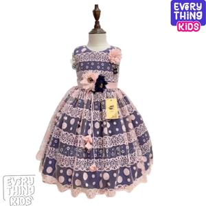 Cute Girls Lacy Dress-Baby Pink +Blue | Children's Clothing for sale in Lagos State, Ikeja
