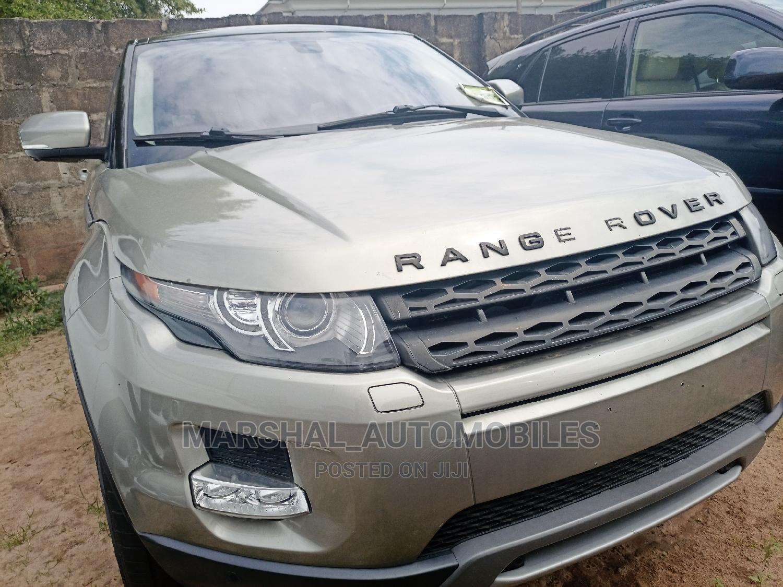 Land Rover Range Rover Evoque 2012 Gold