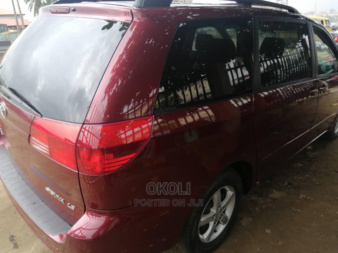 Toyota Sienna 2004 Red | Cars for sale in Ojodu, Lagos State, Nigeria