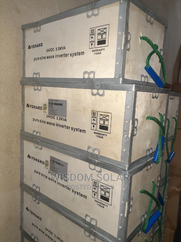 3.5kva 24V Yohako Solar Inverters | Solar Energy for sale in Ojo, Lagos State, Nigeria