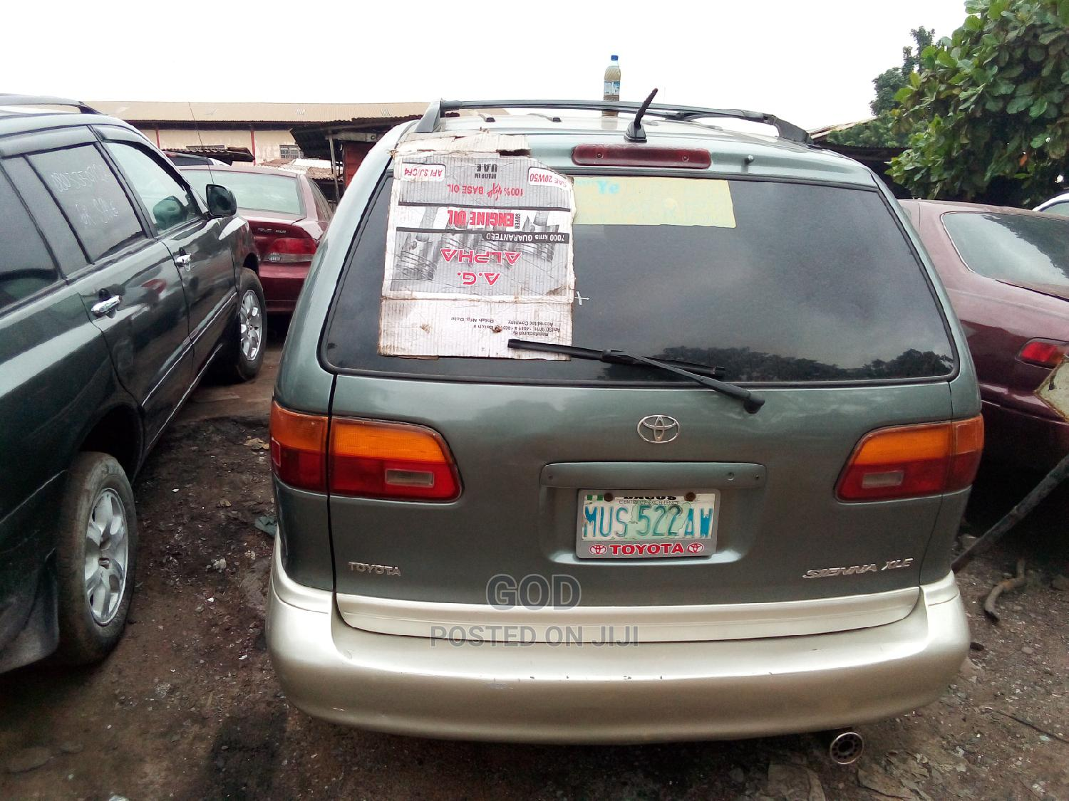 Toyota Sienna 1998 Green   Cars for sale in Ikeja, Lagos State, Nigeria