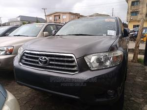 Toyota Highlander 2008 Limited 4x4 Gray | Cars for sale in Lagos State, Ikotun/Igando