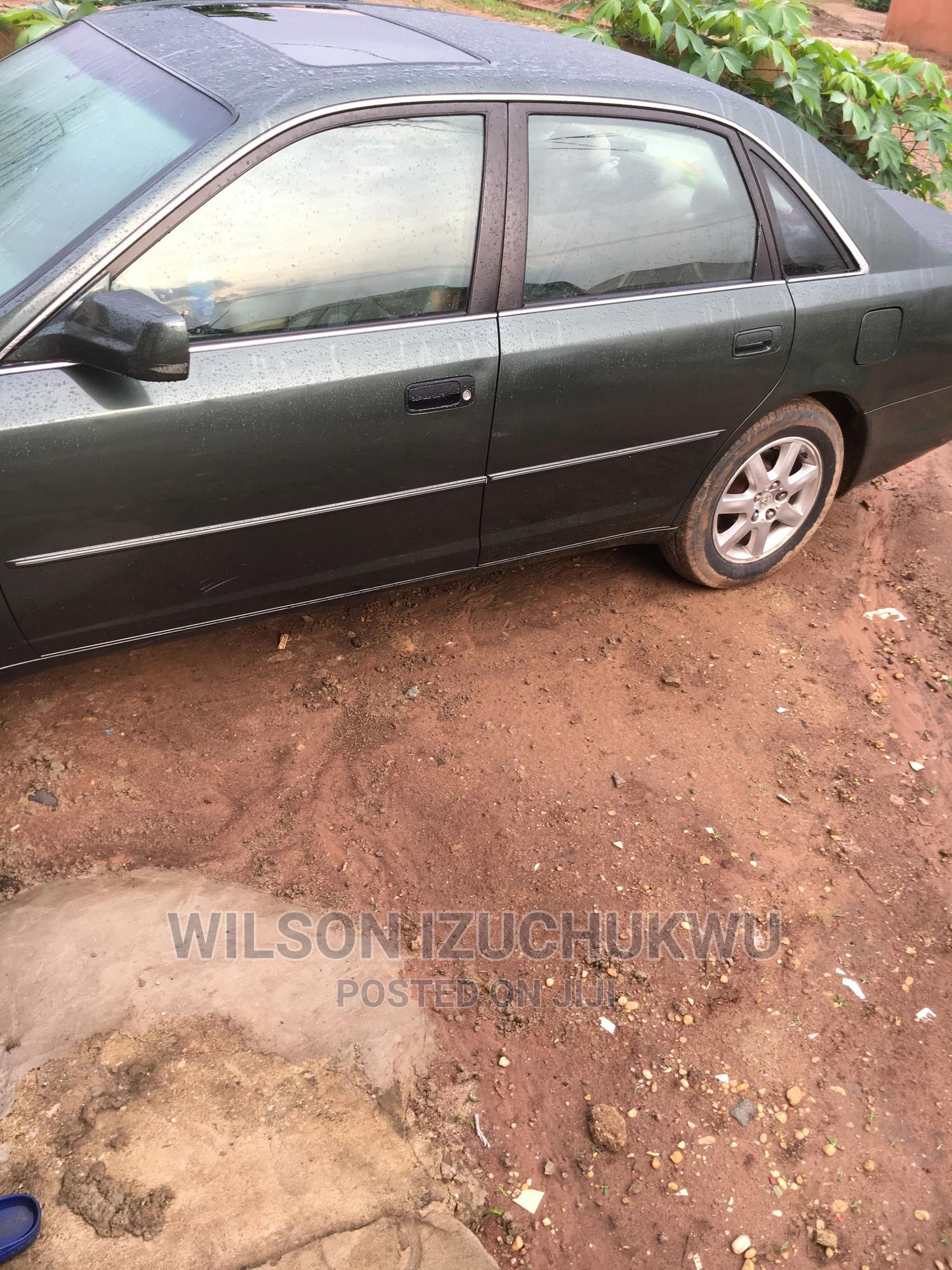Archive: Toyota Avalon 2004 XL Green