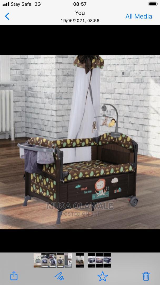 Baby Play Pen Bed | Children's Furniture for sale in Lagos Island (Eko), Lagos State, Nigeria
