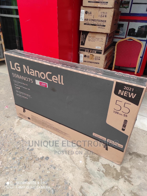 "LG Nanocell TV 55""Inch Series 4K Active Smart Thinq AI 2 Yrs"