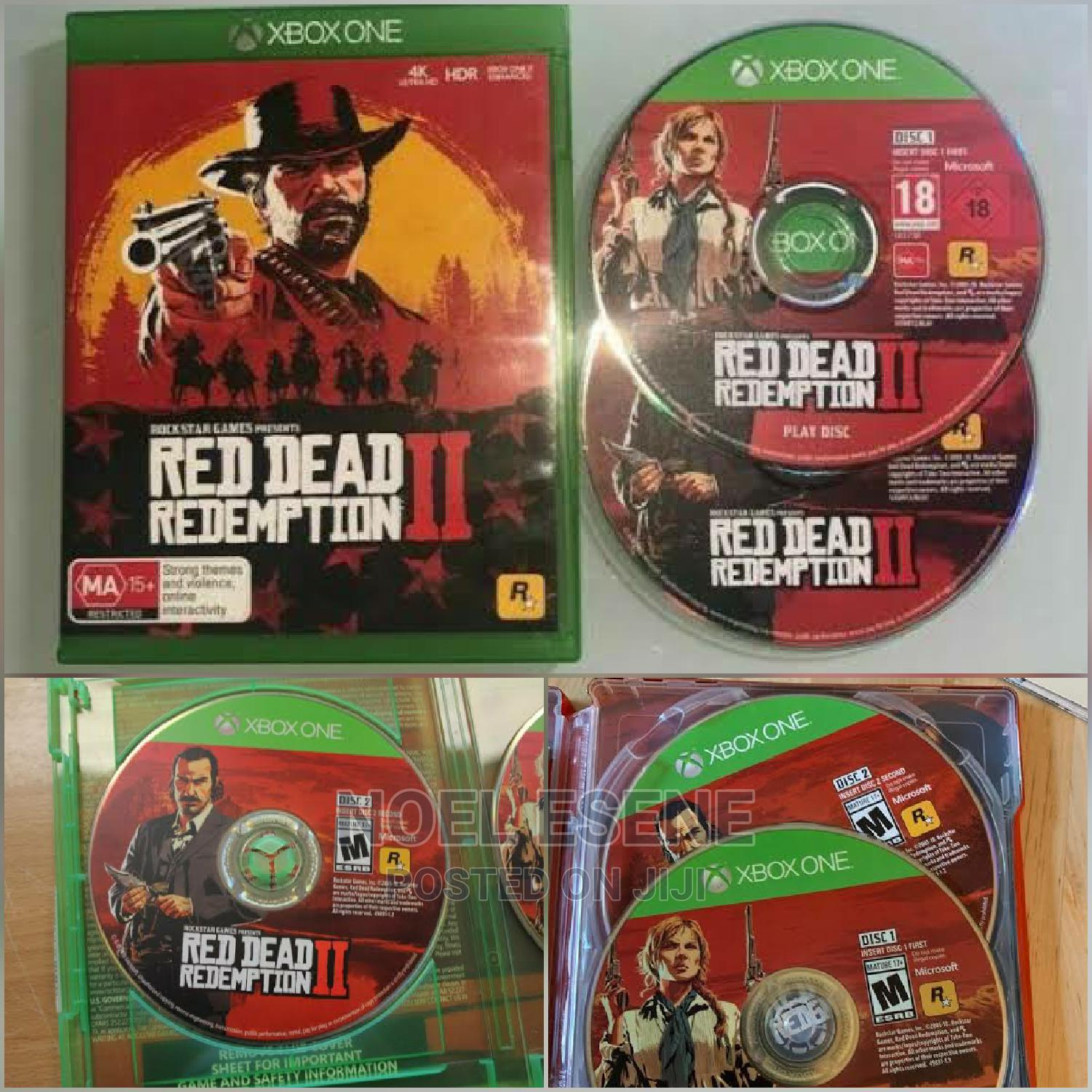 Archive: Red Dead Redemption 2 for Xbox One Available