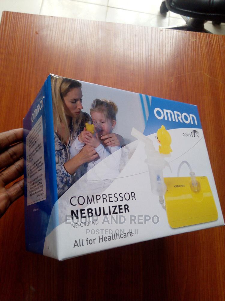 Omron Compressor Nebulizer Ne-C801kd   Medical Supplies & Equipment for sale in Benin City, Edo State, Nigeria