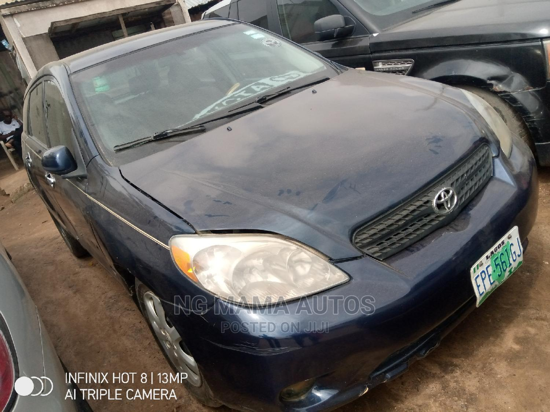 Archive: Toyota Matrix 2004 Blue