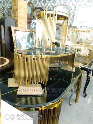 Quality Gold Center Table | Furniture for sale in Lagos State, Ikeja