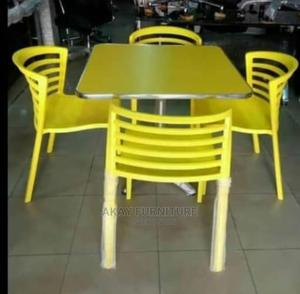 Yellow Restaurant Chair   Furniture for sale in Lagos State, Lekki