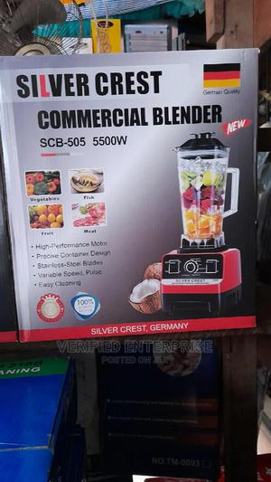 Silver Crest Blender 5500 Watts   Kitchen Appliances for sale in Lagos State, Lagos Island (Eko)