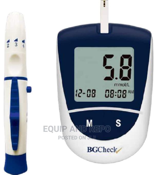 Bgcheck Blood Glucose Monitor | Medical Supplies & Equipment for sale in Benin City, Edo State, Nigeria