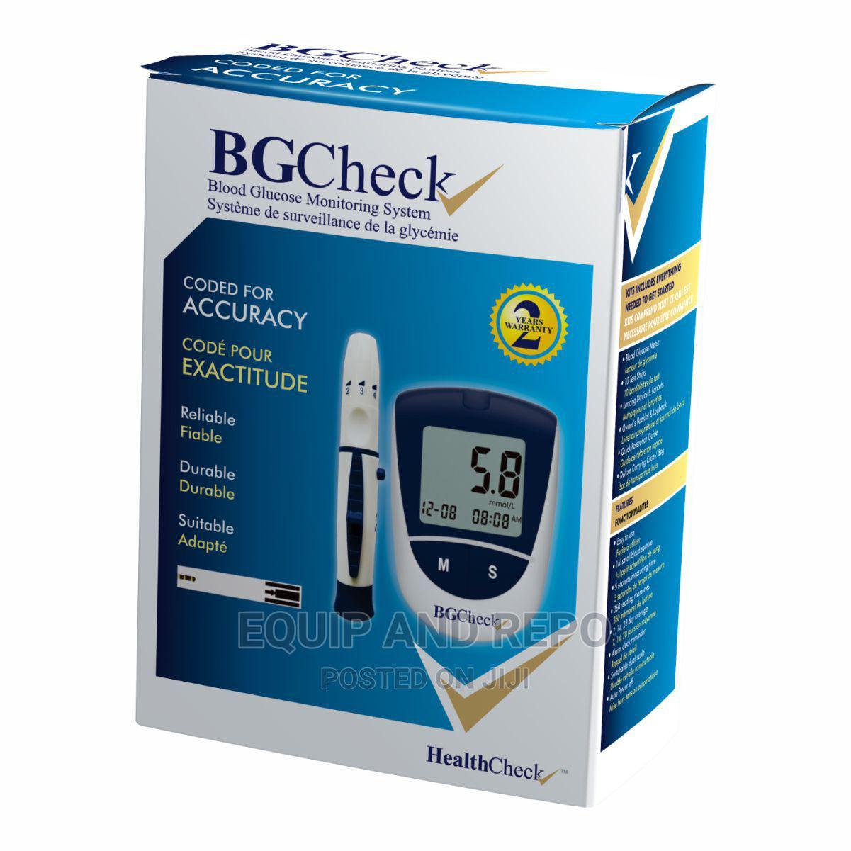 Bgcheck Blood Glucose Monitor
