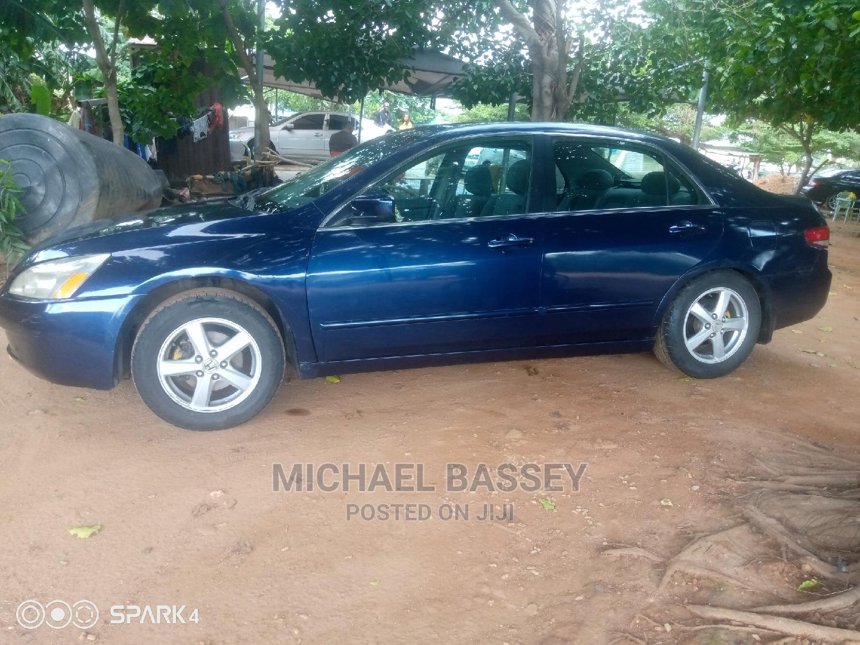 Archive: Honda Accord 2004 Automatic Blue
