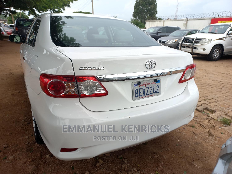 Archive: Toyota Corolla 2012 White