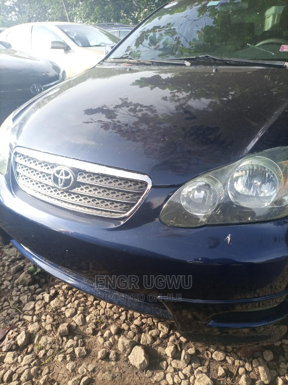 Archive: Toyota Corolla 2006 Blue