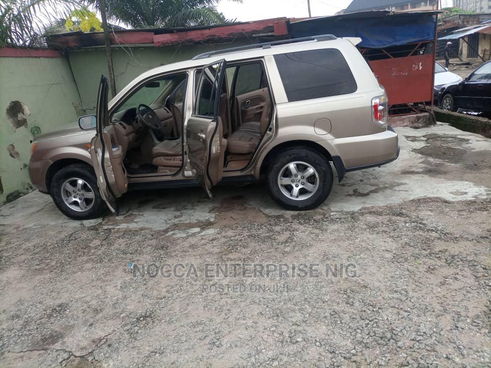 Honda Pilot 2006 Gold | Cars for sale in Amuwo-Odofin, Lagos State, Nigeria