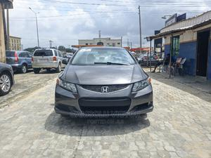 Honda Civic 2012 EX Coupe Automatic Gray | Cars for sale in Lagos State, Ajah