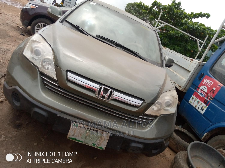 Archive: Honda CR-V 2007 Green