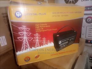 Crystal Plus Sealed Rechargeable Solar Battery 100ah | Solar Energy for sale in Lagos State, Ojo