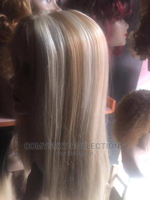 22 Inches Blonde Frontal Wig   Hair Beauty for sale in Lagos State, Lagos Island (Eko)