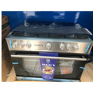 Maxi 5 Burners Gas Cooker (90 X 60) | Kitchen Appliances for sale in Abuja (FCT) State, Wuse 2