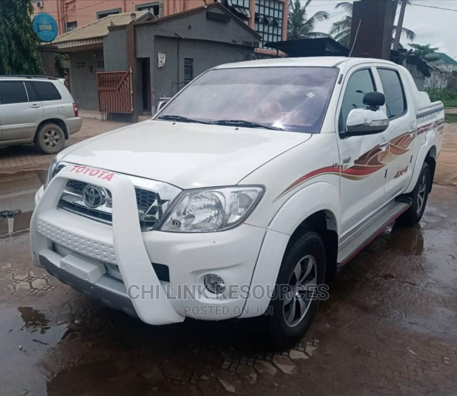 Toyota Hilux 2010 White | Cars for sale in Ojo, Lagos State, Nigeria