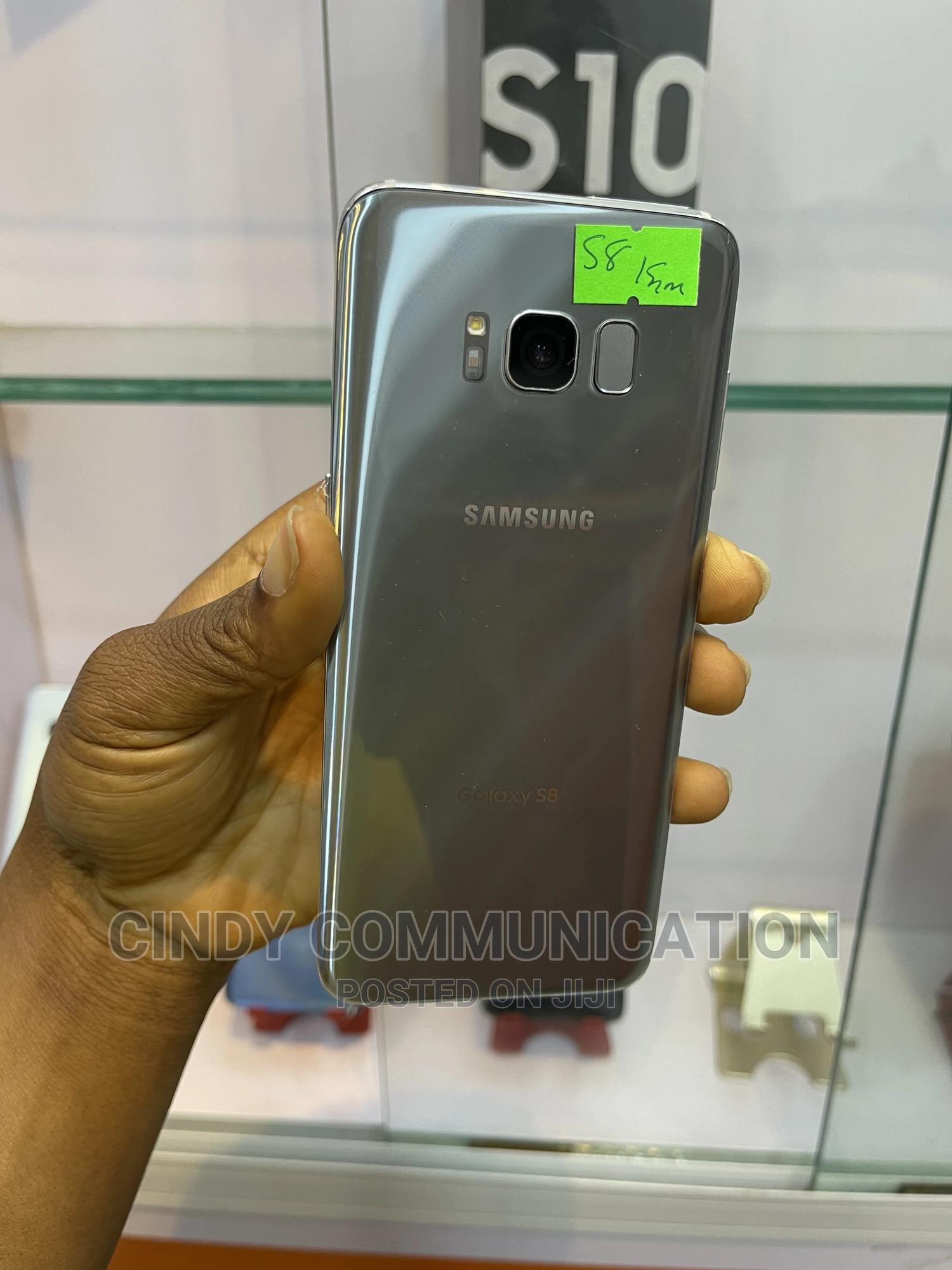 Samsung Galaxy S8 64 GB Silver | Mobile Phones for sale in Ikeja, Lagos State, Nigeria