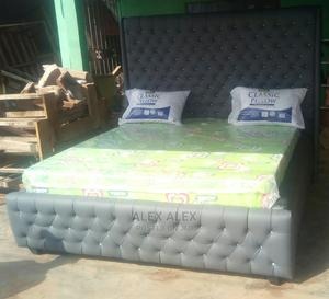 Upholstered Tuft Bed | Furniture for sale in Edo State, Benin City