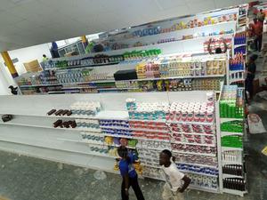 Steel Gondola Shelve   Store Equipment for sale in Lagos State, Kosofe