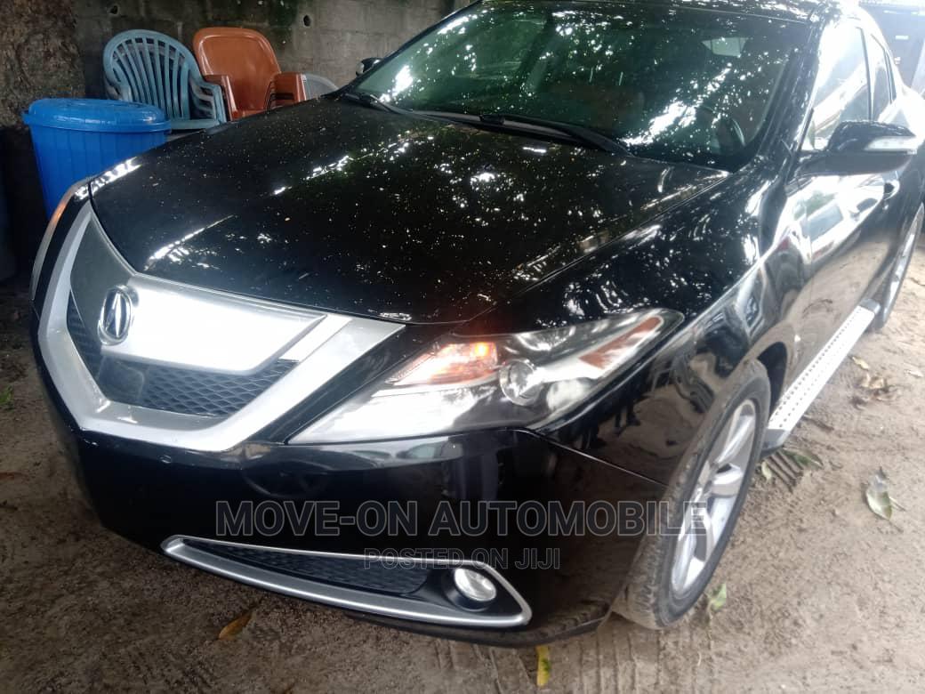 Acura ZDX 2011 Base AWD Black | Cars for sale in Amuwo-Odofin, Lagos State, Nigeria