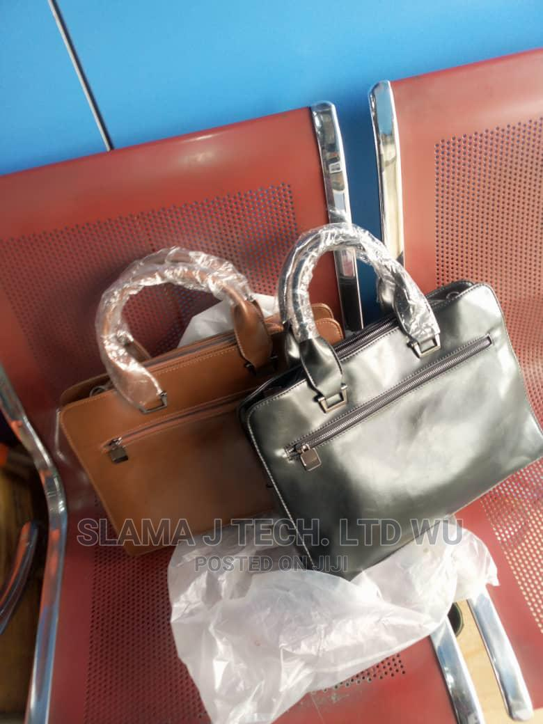 Unisex Pure Leather Laptop Bag