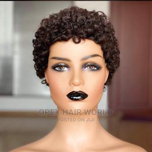 Skullcap Wig(Jerry Curls) | Hair Beauty for sale in Lagos State, Ikeja
