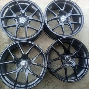 19 Inches Rim Black   Vehicle Parts & Accessories for sale in Lagos State, Mushin