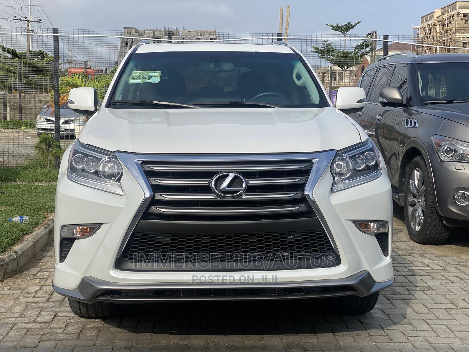 Lexus GX 2018 460 Luxury White