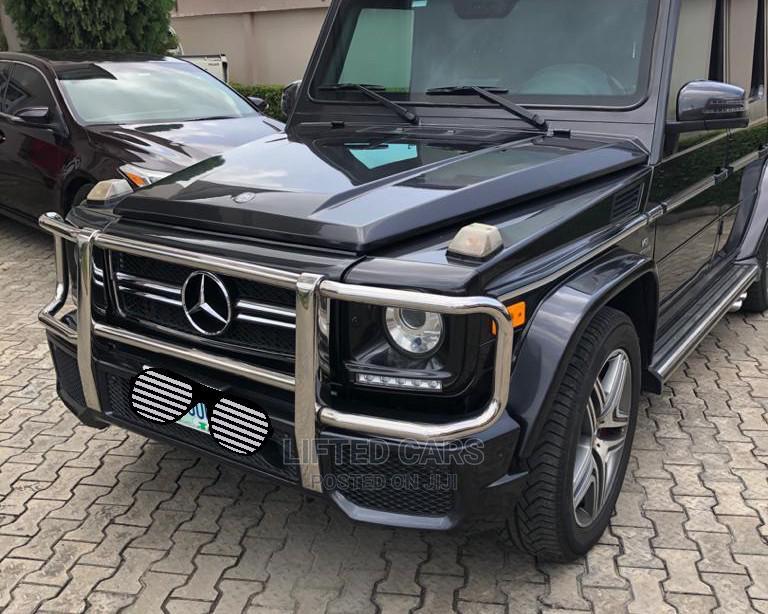 Archive: Mercedes-Benz G-Class 2014 Black