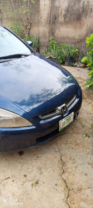 Honda Accord 2004 2.4 Type S Automatic Blue | Cars for sale in Abuja (FCT) State, Kubwa