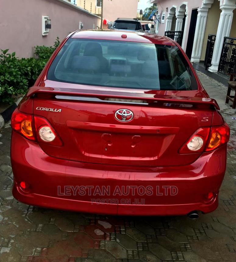 Toyota Corolla 2010 Red | Cars for sale in Lekki, Lagos State, Nigeria