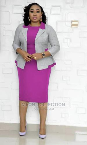 New Quality Female Turkey Gown With Jacket | Clothing for sale in Akwa Ibom State, Uyo