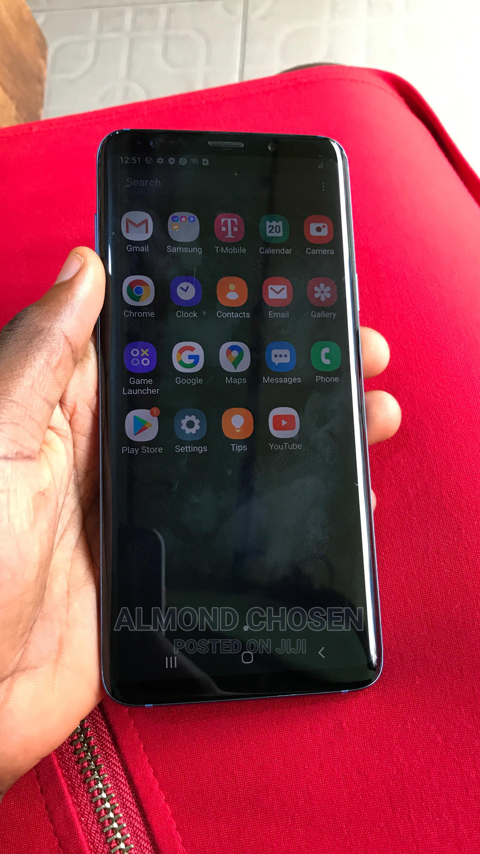 Samsung Galaxy S9 Plus 64 GB Blue   Mobile Phones for sale in Ikeja, Lagos State, Nigeria