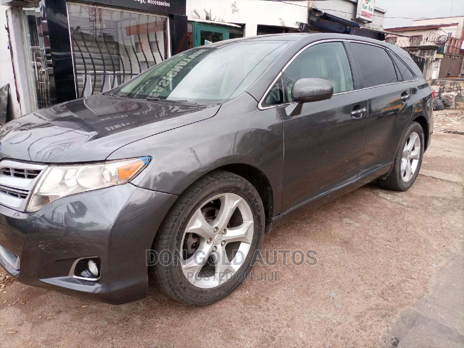 Toyota Venza 2012 Gray   Cars for sale in Ikeja, Lagos State, Nigeria
