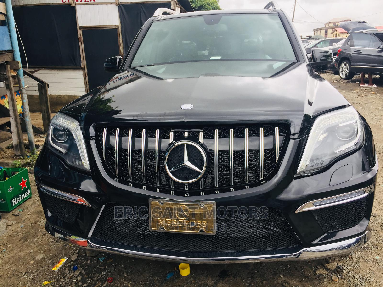 Mercedes-Benz GLK-Class 2012 350 4MATIC Black | Cars for sale in Isolo, Lagos State, Nigeria
