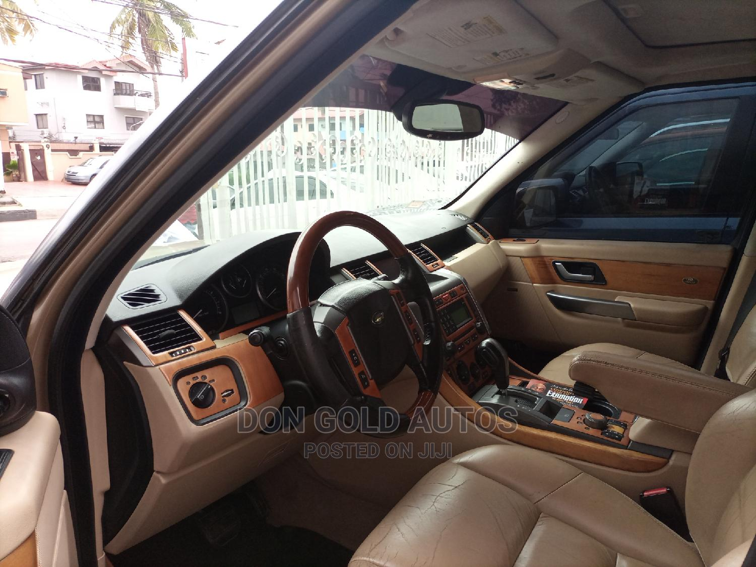 Land Rover Range Rover 2007 Gold   Cars for sale in Ikeja, Lagos State, Nigeria