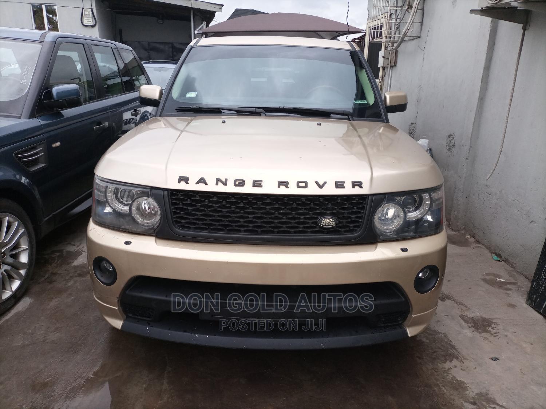 Land Rover Range Rover 2007 Gold