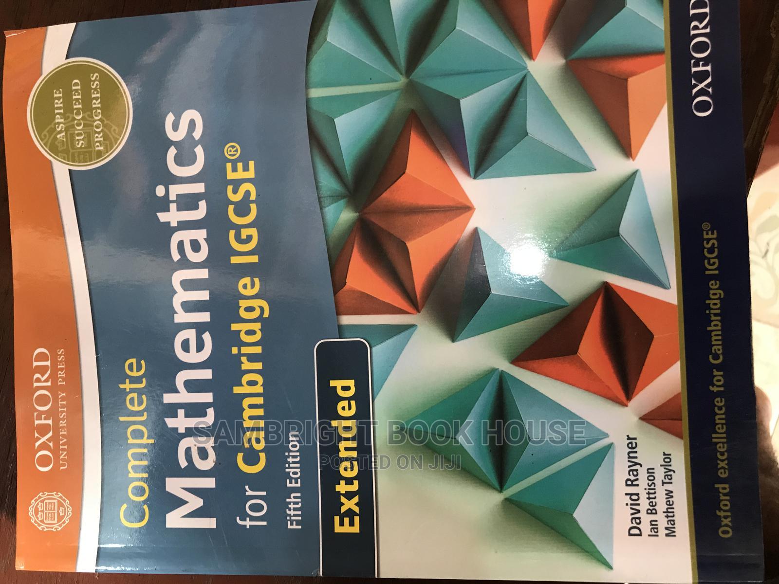 Archive: Complete Mathematics for Cambridge Igcse 5th Edition